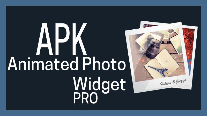 descargar Animated Photo Widget apk pro mod premium android ios